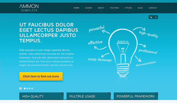 Ammon Business WordPress Theme
