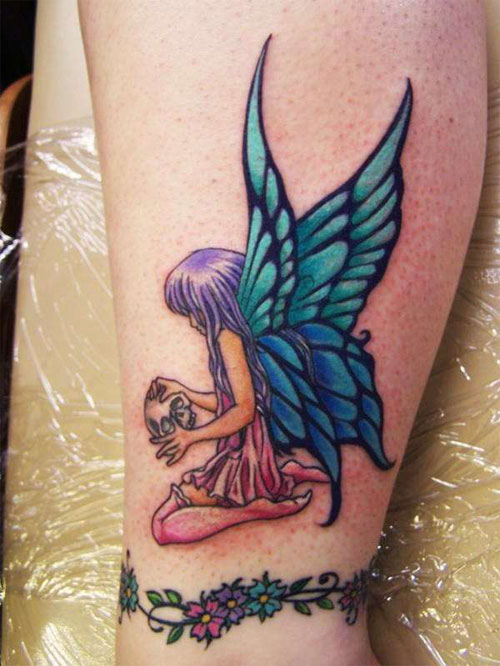 angel tattoo for girls - photo #21