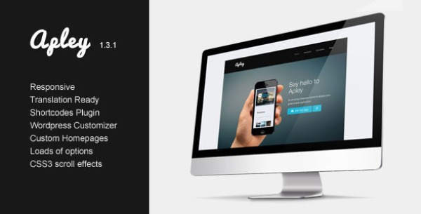 Apley – A mobile application landing page