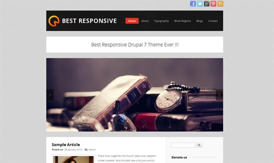 Best-Responsive-Drupal
