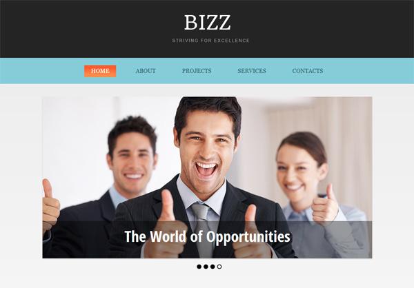 Bizz Html5 CSS3 Theme