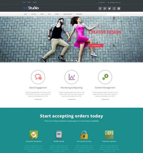 Bootstrap-Flat-Design-Website-Templates