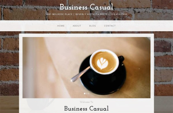 Business Casual – Free Bootstrap Template
