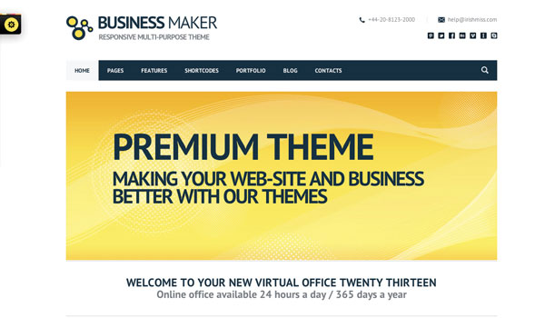 Business Maker WordPress Theme