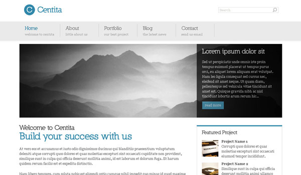 Centita Business WordPress Theme