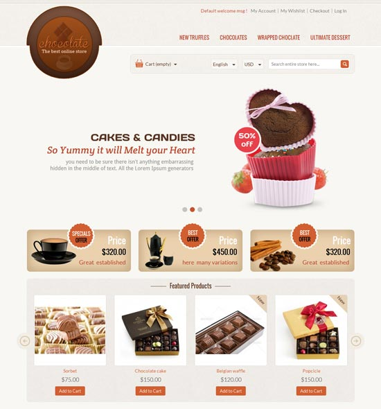 Chocolate-Magento-Responsive-Theme