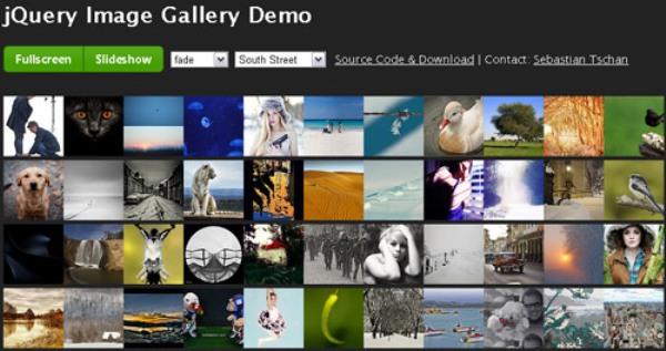 Classic JavaScript Gallery