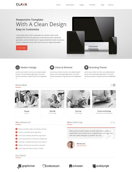 Clava-best-wordpress-theme-february-2014
