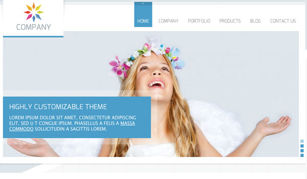 Company Business WordPress Theme