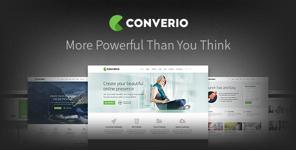 Converio - Responsive Multi-Purpose WordPress Theme
