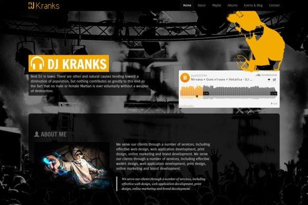 DJ & Music Artist – Free bootstrap theme