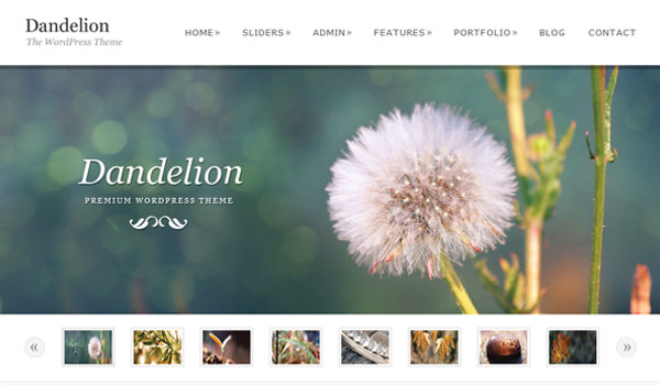 Dandelion Business WordPress Theme