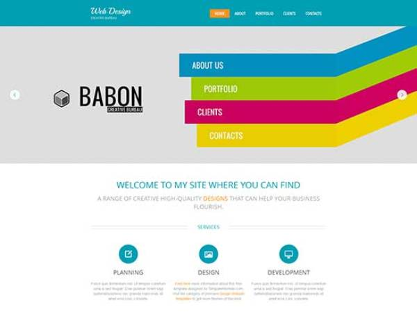155 free responsive html5 css3 website templates design studio free html5 theme design studio free html5 theme pronofoot35fo Choice Image