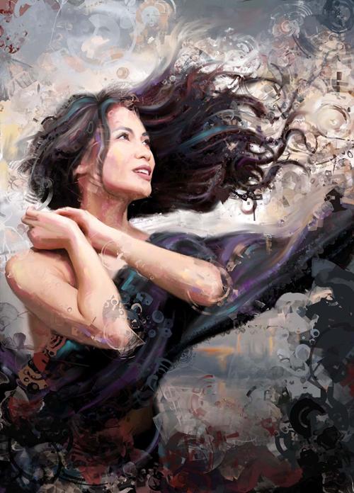 Digital Portrait Painting Secrets Painter Tutorial