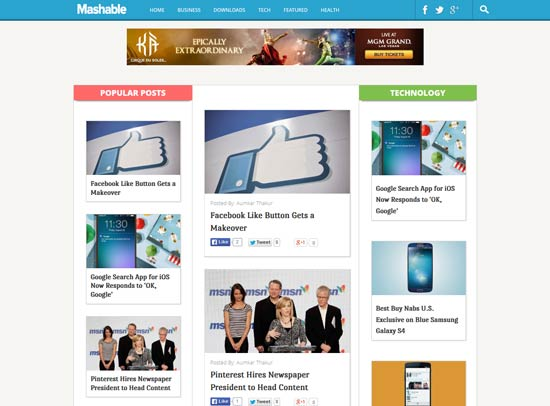 Dynamo-Multimedia-Mashable-Blogger-Template