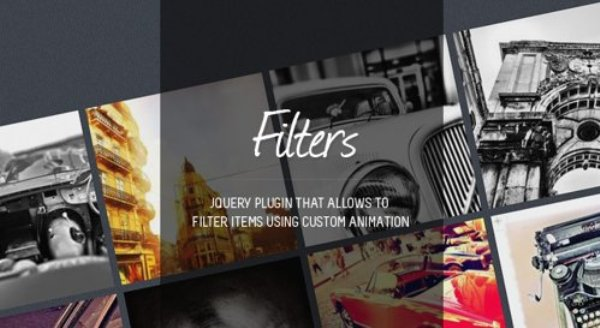 Filters jQuery plugins