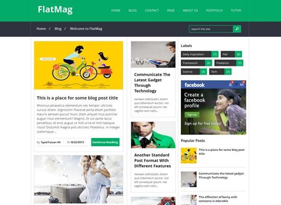 Flat-Mag-Responsive-Blogger-Template