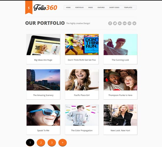 Folio360-Blogger-Template