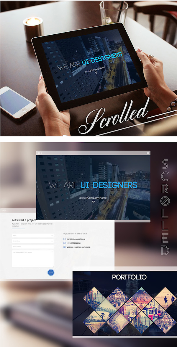 Free HTML5 Template