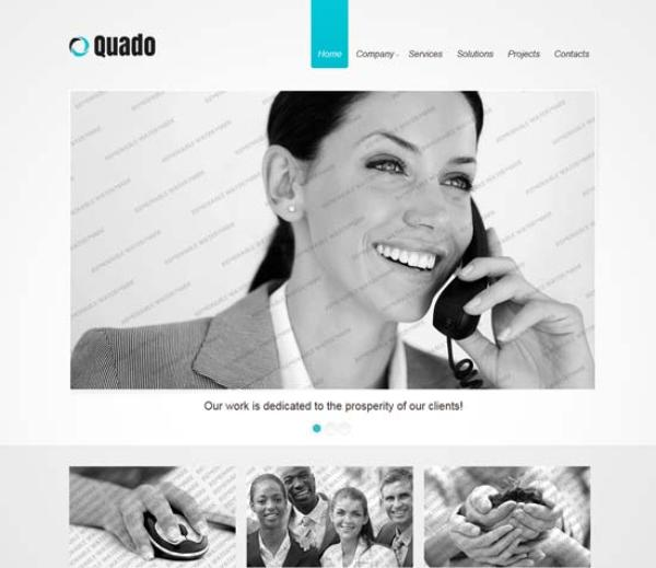 Free-Responsive-Business-Website-Template