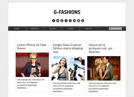 G-Fashions-Blogger-Template