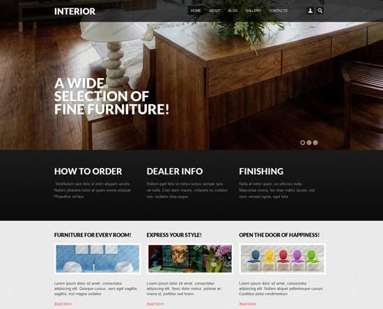 Interior-Design-Drupal-7-templates