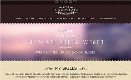 JSN-Vintage