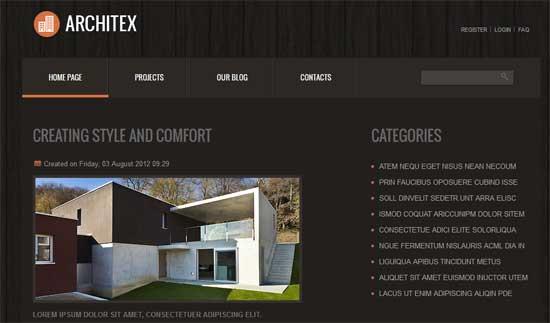 Joomla-Architecture-Template
