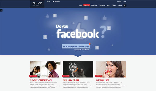 Kallyas Business WordPress Theme