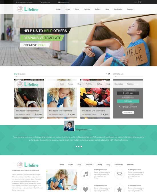 Lifeline-best-wordpress-theme-march-2014