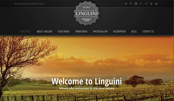 Linguini Business WordPress Theme