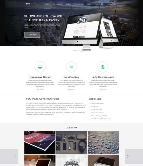 ME-MultiPurpose-Creative  Drupal 7 Themes