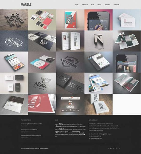 Marble-Flat-Responsive-HTML5-Template
