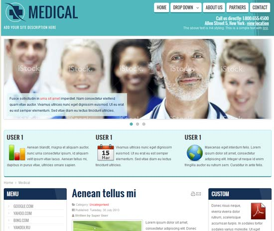 Medical-Health-Doctor-Free-Joomla-Template