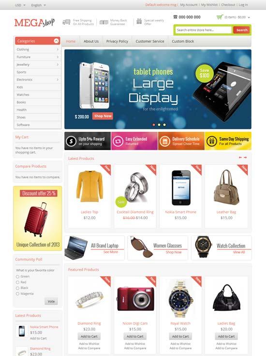 Mega-Shop-Magento-Responsive-Template