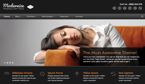 Modernize Business WordPress Theme