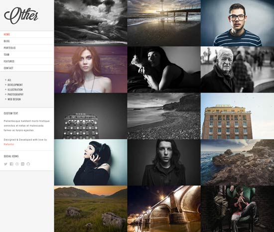 Other-Creative-Photography- Drupal 7 Themes