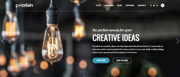 Porcelain Premium Responsive WordPress Themes
