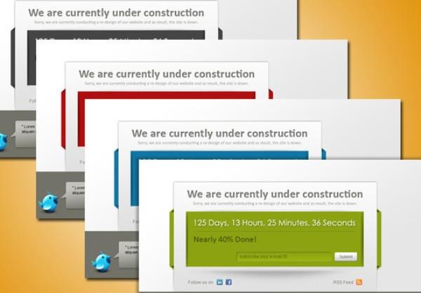 Premium Under Construction Template