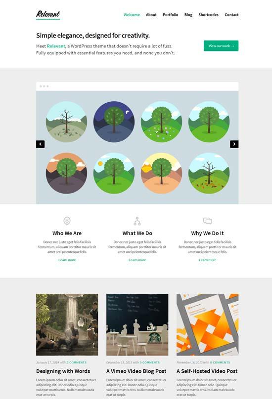 Relevant-WordPress-Theme