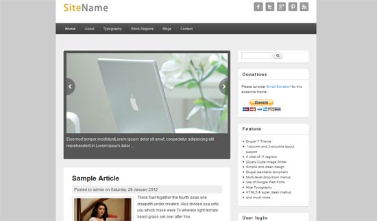 Responsive-Blog