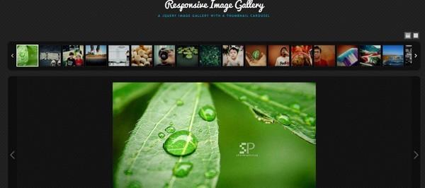 Responsive Thumbnail Gallery Plugin