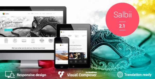 Salbii – Responsive Multi Purpose Landing Page