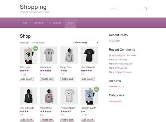 Shopping-eCommerce-WordPress-Theme