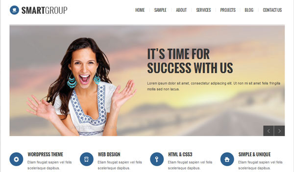 Smartgropu Business WordPress Theme