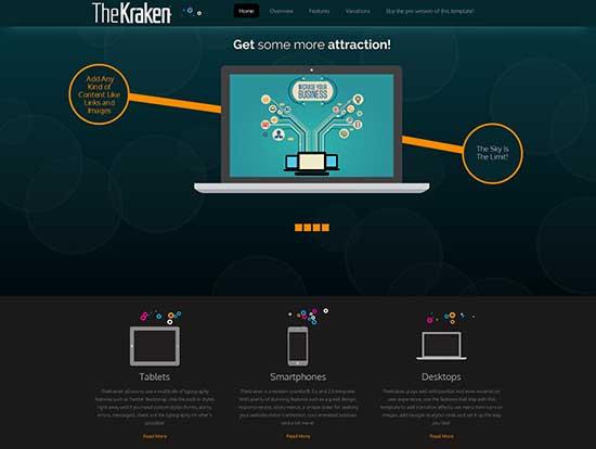 TheKraken-Free-Animation-Responsive-Template