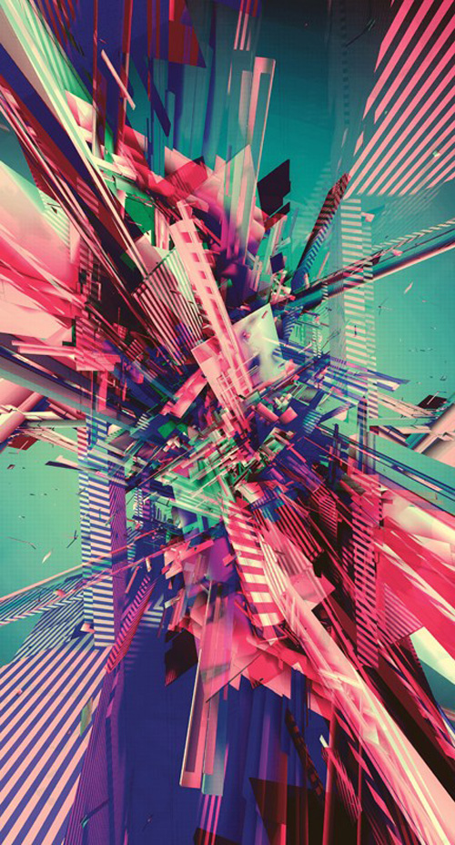 Use 3D to Create Colourful Abstract Art Maxon Cinema 4D tutorial