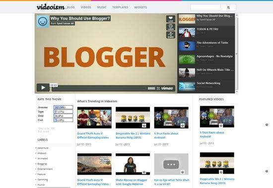 Videoism-Free-Blogger-Template