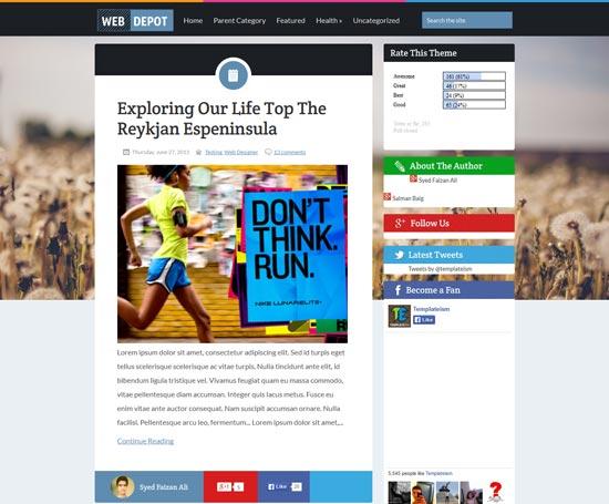 WebDepot-Blogger-Template