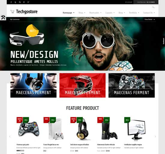 75+ Best Free & Premium eCommerce WordPress Themes